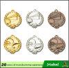 3D football americano Baseball Silver Bronze Golden Metal Sports Medal