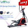 Uno mismo elíptico del entrenamiento de la gimnasia del hogar de la máquina de la aptitud del ejercicio del amaestrador de la cruz de la bici de la bici de la aptitud de la energía de 2016 DIY que genera la bici elíptica de la bici de la aptitud