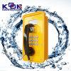 A estação do óleo mina o telefone Emergency impermeável da doca