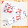 Lanières d'impression de Custom&Polyester de lanière de cou imprimées par cadeau promotionnel