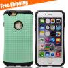 Caso de goma de la cubierta protectora del teléfono del silicón del gel suave para el iPhone 6 4.7inch