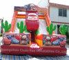 Grade comercial Car Inflatable Slide para o parque de diversões