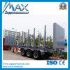 Transport-Ladung-halb LKW-Schlussteil des Holz-60t/des Behälters