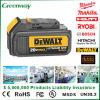 Paquete substituto de la batería para la batería del reemplazo de la herramienta eléctrica de la alta calidad de Dewalt Dcb200