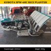 Mini planteur Spw-68c de riz de la Chine Kubota à vendre, transplantoir de marche Spw-68c, planteur de riz de Kubota de riz de Kubota
