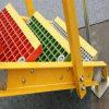 Los paneles compuestos de la fibra de vidrio resistente de GRP que rallan para los treadds de la escalera