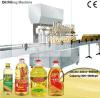 Machines d'embouteillage d'huile de remplissage d'huile de cuisine