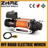 12500lbs del torno eléctrico del carro del camino 4X4 con la cuerda sintetizada