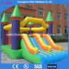 Castillo animoso inflable de la diapositiva combinado para el partido
