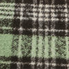 Indumento di lana degli assegni delle donne del tessuto delle lane 70%Polyester di 30%