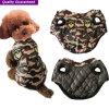 Vêtements à la mode de crabot de Polyfill de camouflage de produit d'animal familier