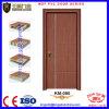 Puertas interiores laminadas del PVC de la posición de las puertas enrasadas del PVC
