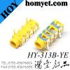 3.5mm de Gele Telefoon van de ONDERDOMPELING van de Kleur 6p Jack/AudioJack
