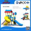 Cour de jeu extérieure en plastique d'attractions préférées colorées de gosses de série de Chambre d'arbre