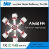 Lampe automatique automatique de tête de lampe de la haute énergie H4 DEL de Xhp 50 de CREE d'accessoires