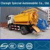 Vide et camions de abattage hydraulique de nettoyage à eau d'égout à haute pression de pompe