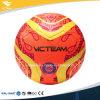 A máquina quente da venda costurou a esfera de futebol impressa costume do futebol