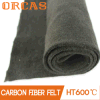 Fieltro incombustible de la fibra del carbón del aislante de alta temperatura