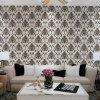 Papier de mur décoratif du modèle 2017 de damassé de mur bon marché classique italien neuf des prix pour des décors de mur