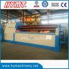 Machines hydraulique de dépliement en acier et de roulement de plaque de 4 rouleaux W12S-6X2500