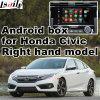 Android поверхность стыка системы навигации GPS видео- для Gen Хонда righthand привода 10th гражданского, касатьется Android соединению зеркала вид сзади навигации системы