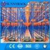 Sistema selettivo di racking della spola della radio di memoria del magazzino