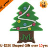 Custom Gift Christmas Tree USB Flash Drive (YT-Tree)
