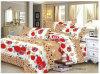 多または綿織物の現代ベッドカバーの寝具のクイーンサイズ一定のベッド・カバーシート
