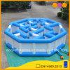 Il labirinto gonfiabile poco costoso blu e bianco scherza il giocattolo del gioco del labirinto (AQ16312)