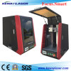 Machine à grande vitesse d'inscription de laser de la fibre 20W pour le métal