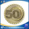 pièce de monnaie en laiton antique de coulage sous pression en alliage de zinc du souvenir 3D (Ele-C121)