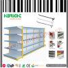 Doppeltes versah Gondel-Supermarkt-Einzelverkaufs-Regale mit Seiten