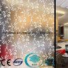 El ácido grabó al agua fuerte el vidrio del vidrio de cristal/helado/arte con el Ce, ISO Sdf017