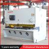 Aluminium de machine de découpage du prix bas QC11y 13X2500