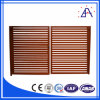 Austrália Style Wood Grain Aluminum Fence com 10 Years Warranty