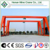 Braguero Single Beam Hoist Gantry Crane con Electric Hoist