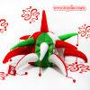 De Hoed van de Dag van Kerstmis van de Klok van de pluche
