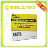 Plástico RFID Barcode Card com GV Approved (SL-1250)