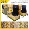 平らな自動ペレタイザー機械700-1000KG/Hはおがくずの餌機械を停止する