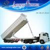 Sale (LAT9703)를 위한 거위 목 모양의 관 Rear Dumping Trailer