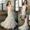 Ein Schulter-Brauthochzeits-Kleid (WD060)