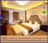 Jogo enorme real luxuoso clássico antigo europeu da mobília do quarto da madeira contínua da mobília do hotel do projeto do chinês