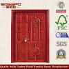 旧式な純木の鞭の外部ドア(XS1-013)