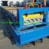 Carrelage en acier de Decking faisant le prix de machine