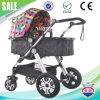 Zwei Funtion Luft-frisches Kabinendach-bunter Baby-Spaziergänger