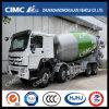 HOWO 8*4 Concrete Mixer Truck con Cimc Huajun Mixer