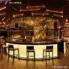 Teller van de Staaf van het Restaurant van de Oppervlakte van de Vorm van U van het Ontwerp van de luxe de Moderne Buitensporige Witte Commerciële Marmeren Stevige