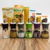 공장 도매 다채로운 올리브 기름 유리병 (100004)