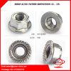 Noix galvanisée de bride d'acier du carbone du dispositif de fixation M3-M80 de la Chine