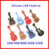 Mecanismo impulsor del flash del USB de la guitarra del palillo de la memoria del USB del instrumento musical